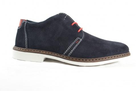 Rieker Sneakers Herren Schnürschuhe Halbschuhe Sneakers Rieker blau Leder 13031 NEU! f90e94