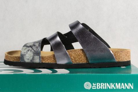 Dr. Brinkmann Damen Damen Damen Pantolette Pantoffel silber/ grau NEU! 67e3c7