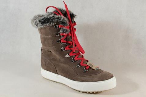 Lackner Damen Winterstiefel Stiefelette Boots Stiefel L-Tex braun NEU!!