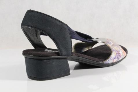 Rieker Damen NEU!! Sandalen Sandaletten Sandale blau NEU!! Damen 628745