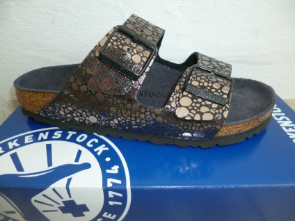 Birkenstock Arizona Pantolette Pantoletten Sandale Stones black 1008872 NEU!