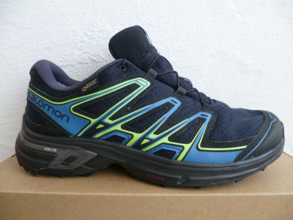 Salomon Sportschuhe Halbschuhe Sneakers WINGS FLYTE wasserdicht blau Neu!!!