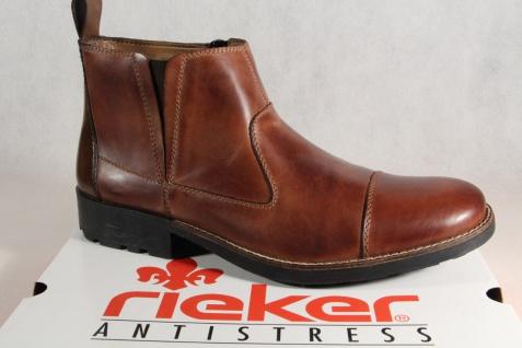 Rieker Herren Stiefel 36050 Stiefelette Winterstiefel, Winterstiefel, Winterstiefel, braun, Leder NEU!! Beliebte Schuhe ccf6db