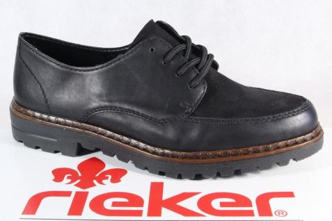 Rieker Damen Schnürschuhe Halbschuhe Sneakers Schnürschuh schwarz 54806 NEU!
