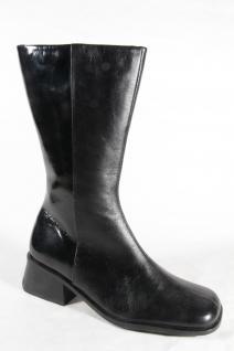 Gino Ventori Neu!!! Damen Stiefel schwarz Echtleder Neu!!! Ventori 72641b