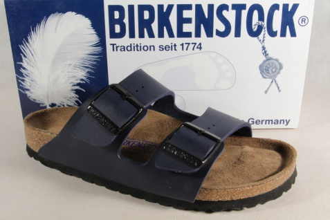 Birkenstock Pantolette Pantoletten Pantoffel Hauschuhe blau 051063 NEU!