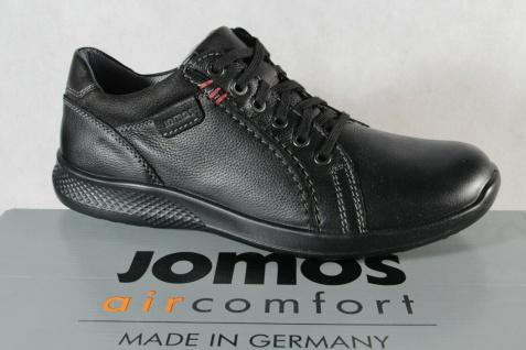 Jomos Schnürschuhe Schnürschuh Sneakers Halbschuh 322319 schwarz NEU!