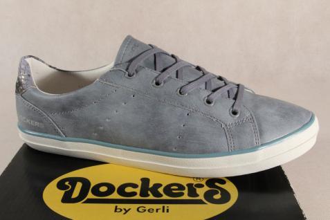 Dockers Schnürschuh Schnürschuh Dockers Sneaker Halbschuh hellblau NEU!! dd78df