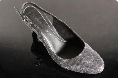 Marco Tozzi Damen Sandale Sling Sling Sling grau/ schwarz NEU!! b42162