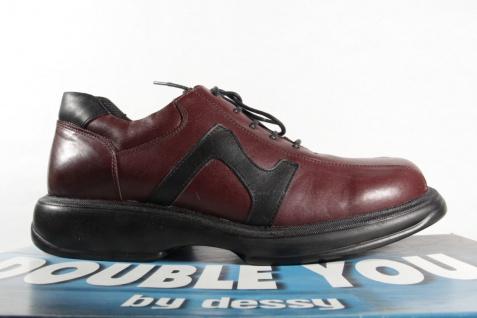 Dessy bordeaux, Herren Schnürschuh, Halbschuh Sneaker bordeaux, Dessy NEU! 9e7622