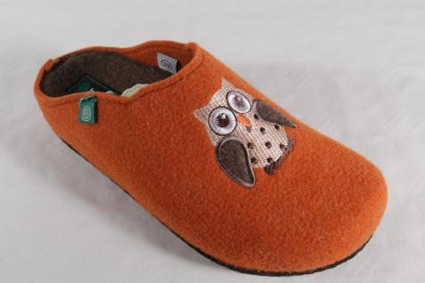 Dr. Naturwollfilz, Brinkmann Damen Pantoffel echter Naturwollfilz, Dr. orange 320424 NEU!! e186e5