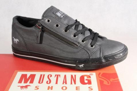 Mustang Schnürschuhe Sneakers Sportschuhe Halbschuhe NEU grau NEU Halbschuhe c0a5e9