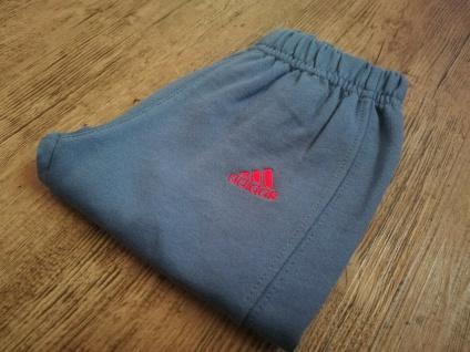 Adidas Jogger Jogginganzug Babyjogger Sweatshirt Sweathose rot dunkelblau NEU - Vorschau 3