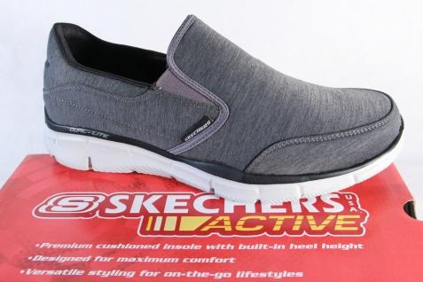 Skechers Herren Slipper Sneaker Halbschuhe grau 51504 NEU!
