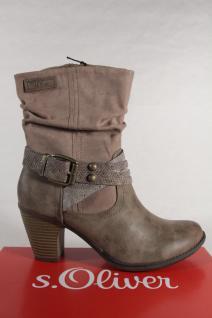 S.Oliver Damen Stiefel Stiefelette Stiefeletten Boots pfeffer 25361 NEU!