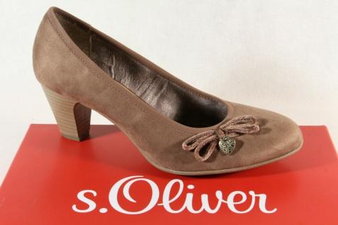 S.Oliver Damen Pumps Ballerina Slipper braun pepper 22410 NEU!