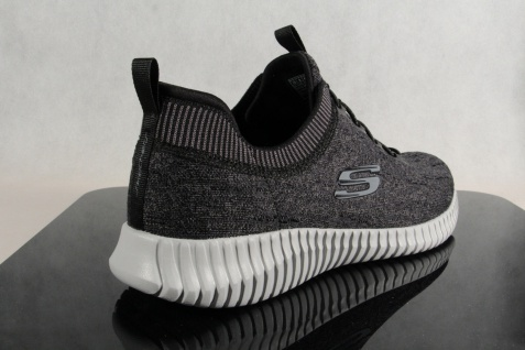 Skechers Elite-Flex Slipper Sneakers Halbschuhe schwarz grau 52642 NEU! - Vorschau 4