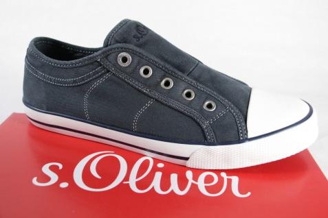 S.Oliver Slipper Stoff Sneakers Ballerina 24635 jeansblau Stoff Slipper NEU! c7fe32