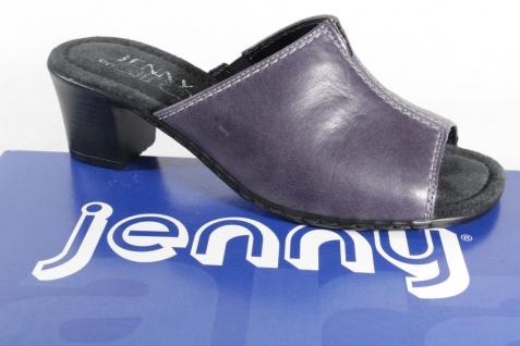 Jenny Sandalen by Ara Damen Pantoletten Sandalen Jenny Echtleder blau NEU! 93a7bf