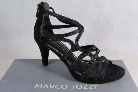 Marco Tozzi schwarz Damen Sandalen Sandaletten Pumps schwarz Tozzi NEU!! 305ea4