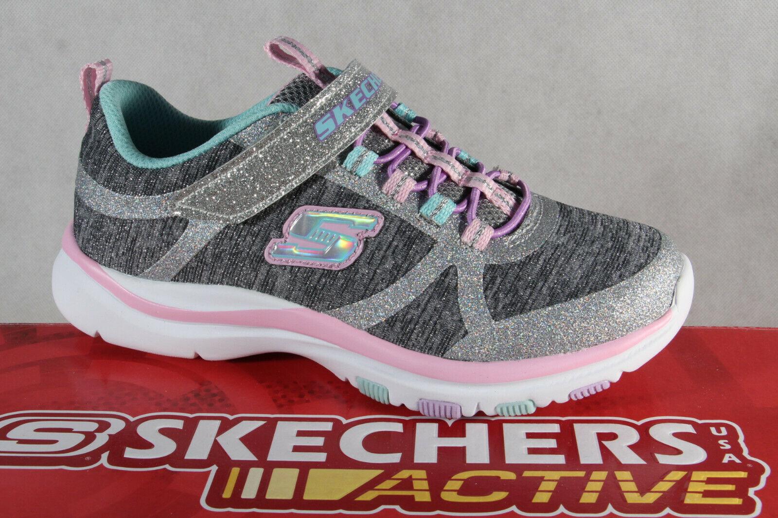best cheap 96ab4 b2f88 Skechers Sneaker Schnürschuh Sportschuh grau/ rosa Memory Foam NEU