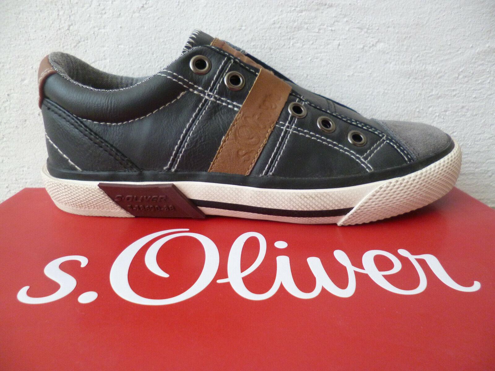 Oliver  Sneaker Sportschuhe Schwarz S