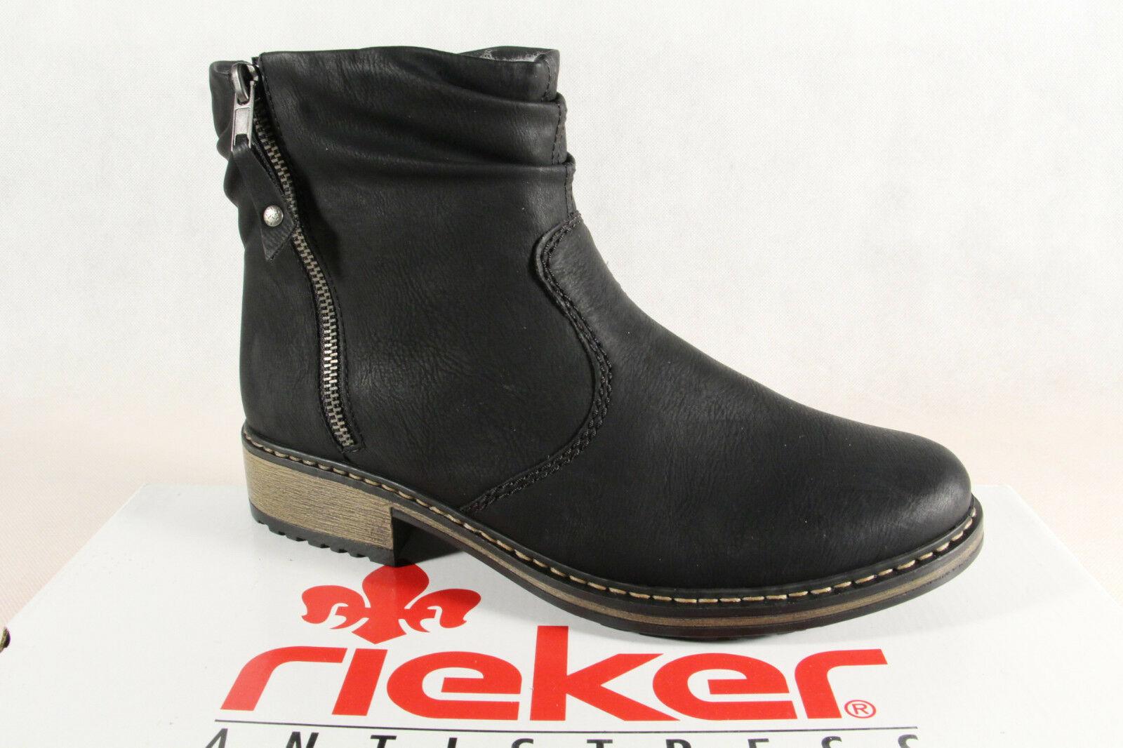 best website 559d6 e0abd Rieker Stiefel Stiefeletten Stiefel, Winterstiefel schwarz ...