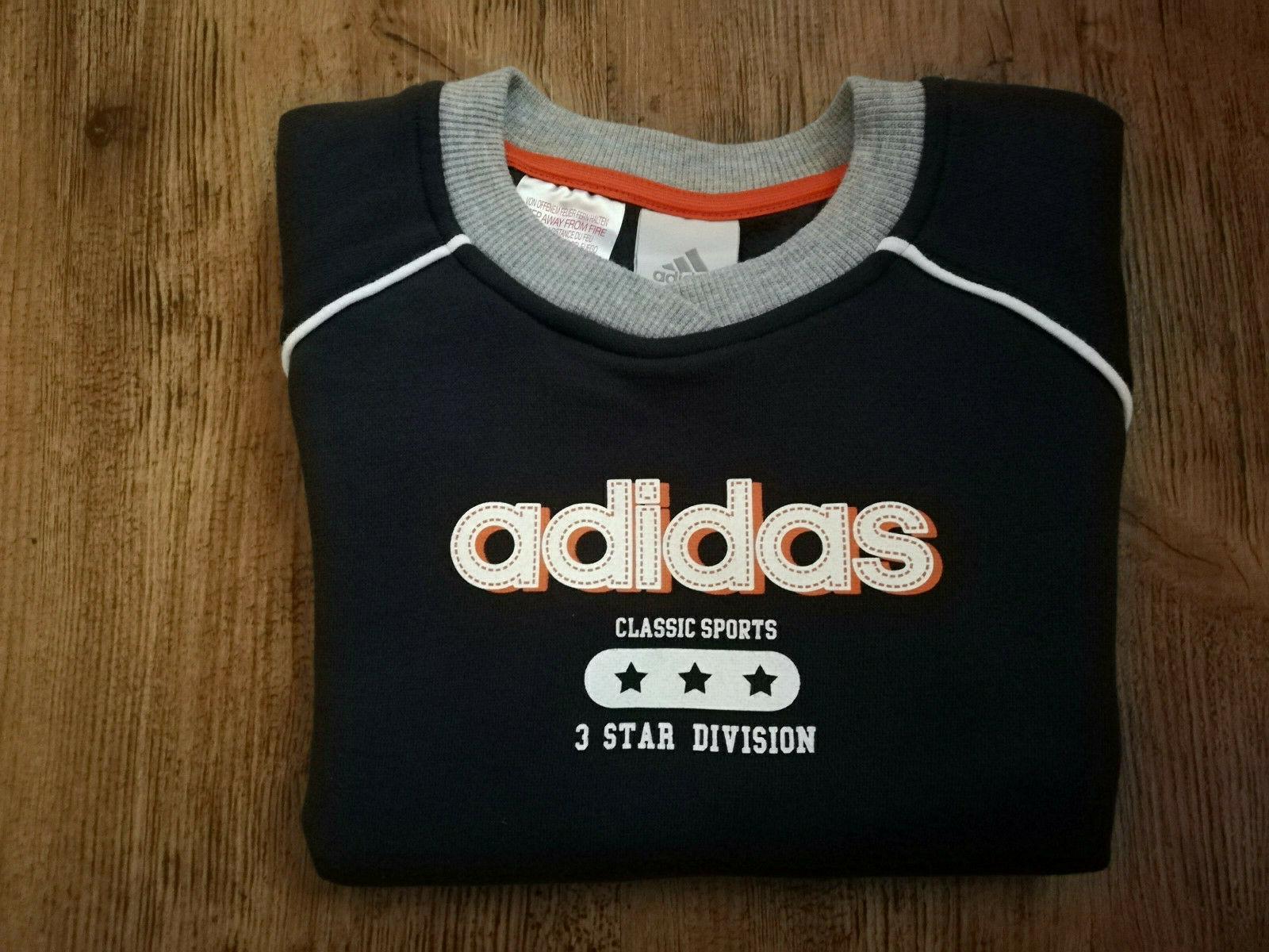 Neu Dunkelblau Pulli Pullover Sport Sweatshirt Sweater Adidas Jungen UVqpSzM