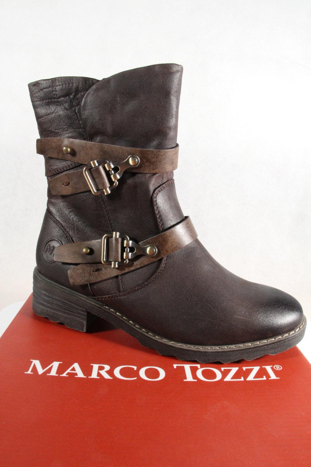 the best attitude d4aea e280e Marco Tozzi Stiefel, Stiefelette, braun, warm gefüttert, RV 26432 NEU!!