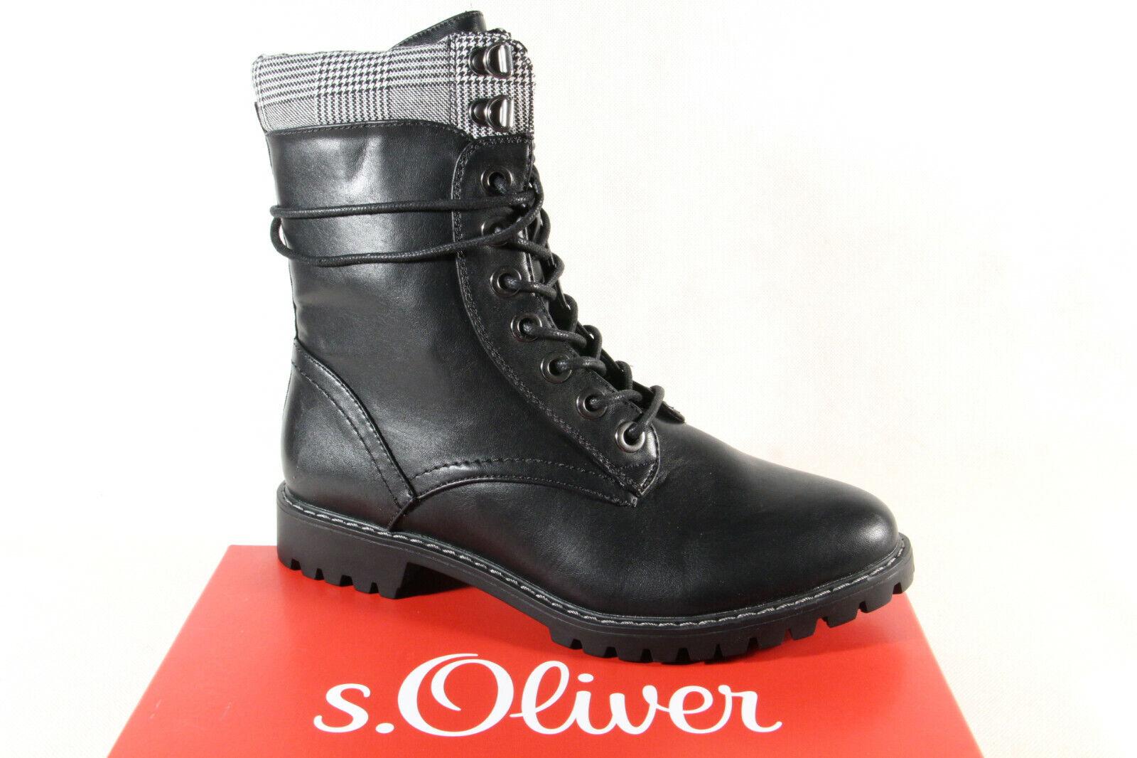 sports shoes bec72 ec3f4 s.Oliver Damen Stiefel Stiefelette Winterstiefel schwarz 25218 NEU