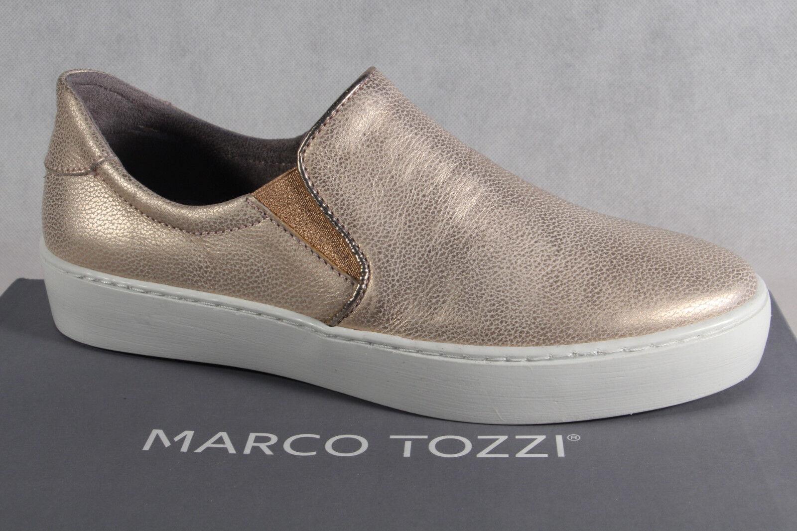 Marco Tozzi Ballerinas Slipper Halbschuhe Pumps Rosa NEU