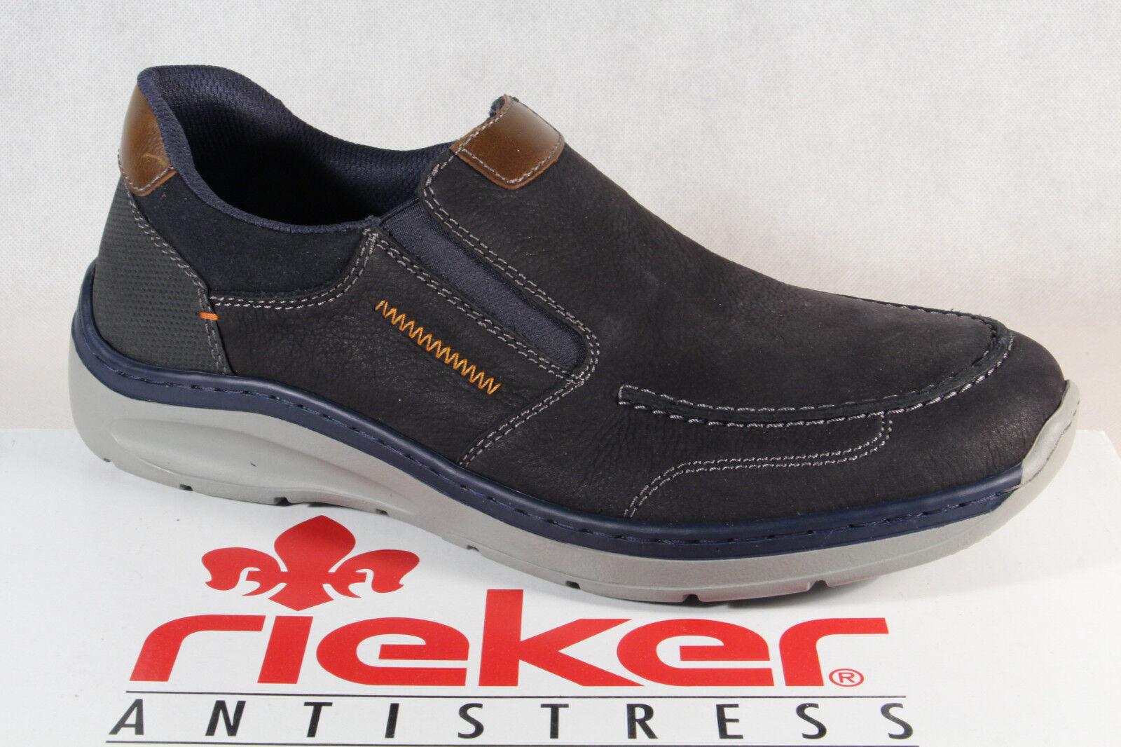 Rieker Rieker Schuhe Jaipur Ambor Virage Volos blau Herren