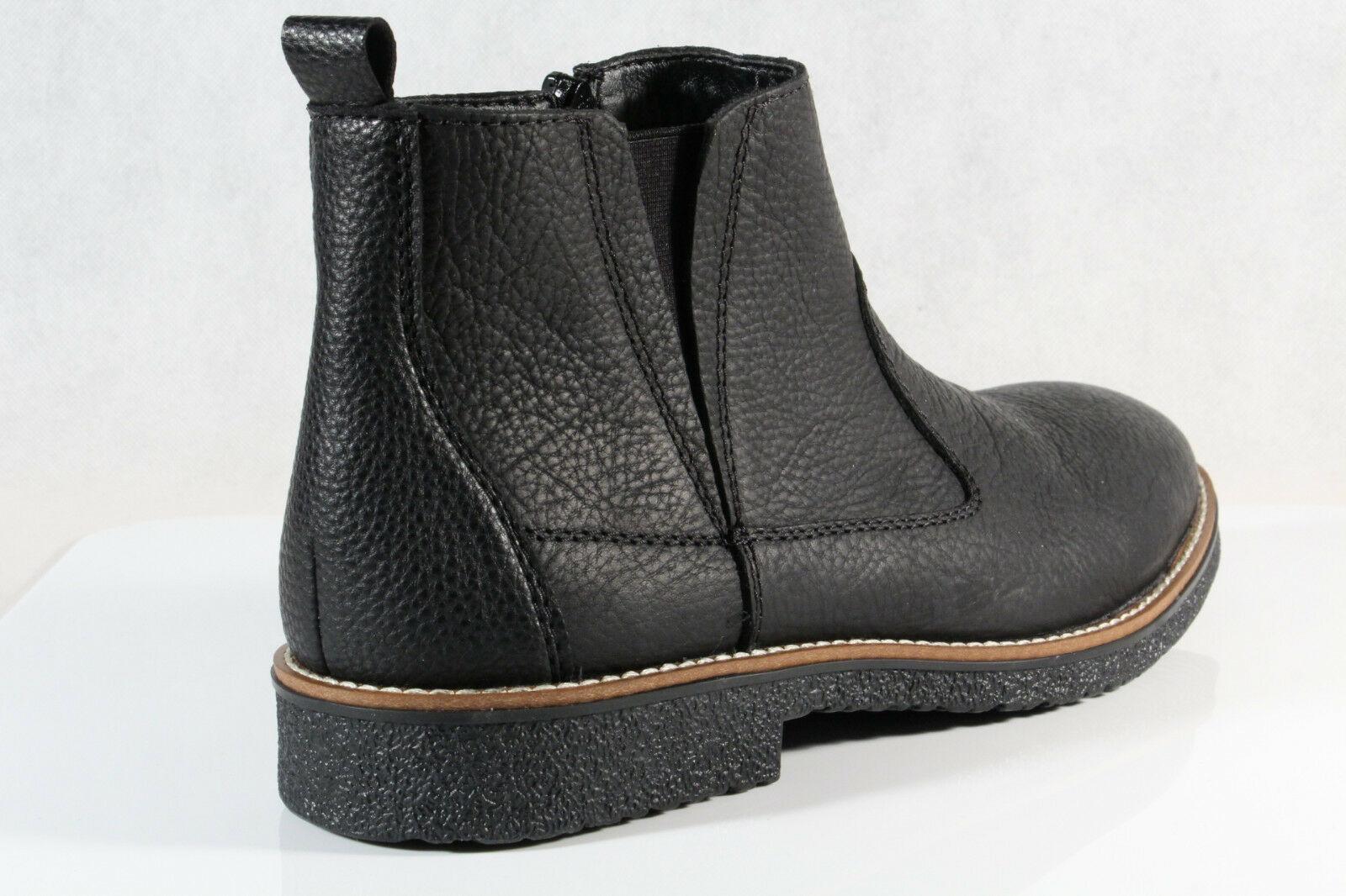 Rieker Herren Stiefel Stiefelette Stiefeletten Boots schwarz 33660 Echtleder NEU