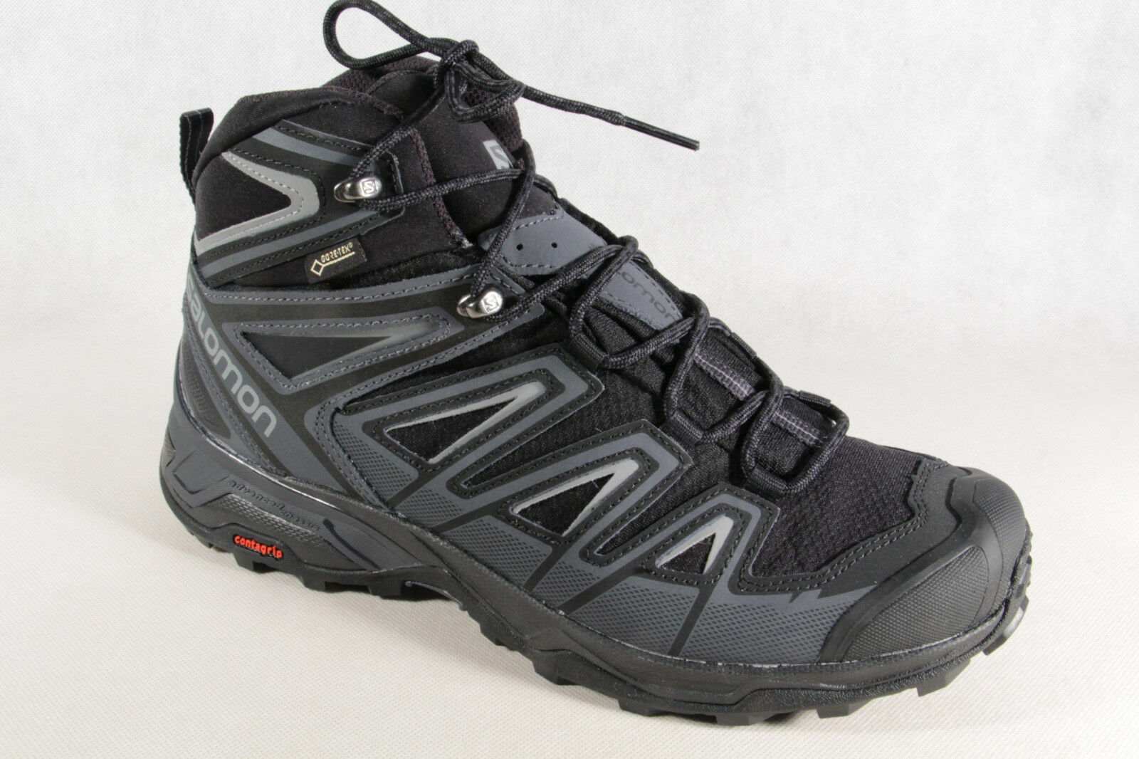 Salomon Stiefel Boots X Ultra 3 MID GTX schwarz grau wasserdicht Gore Tex NEU
