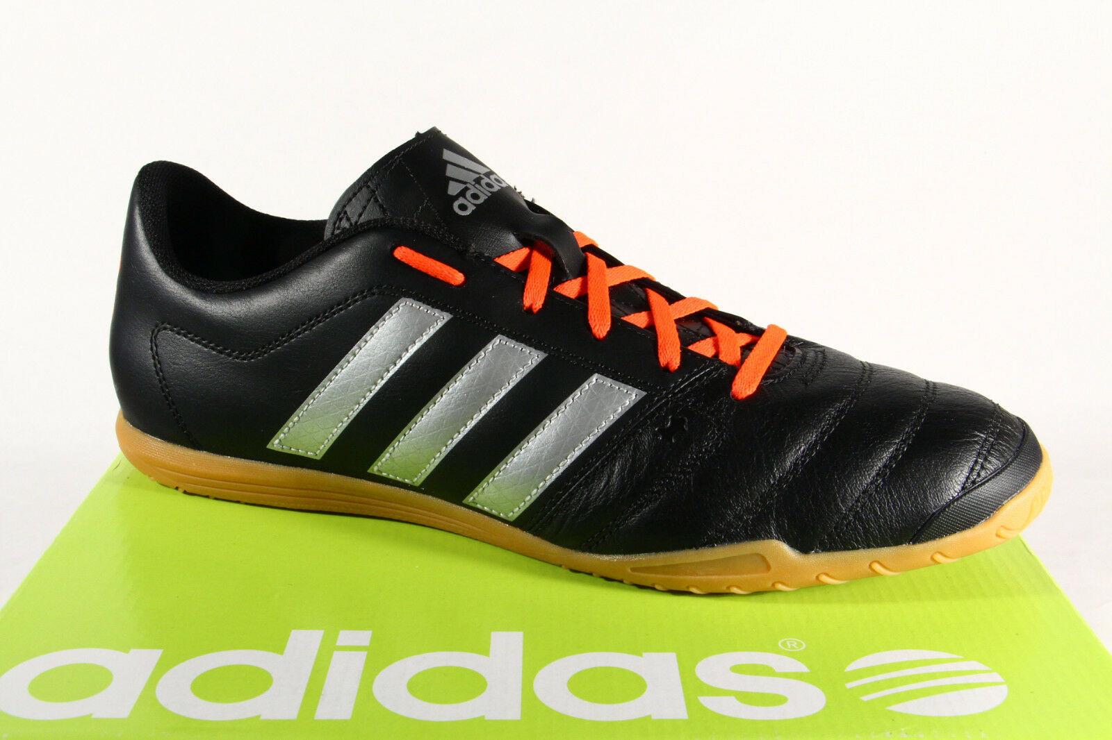 Adidas Herren Sportschuhe Fußballschuhe Turnschuhe Turnschuhe schwarz NEU