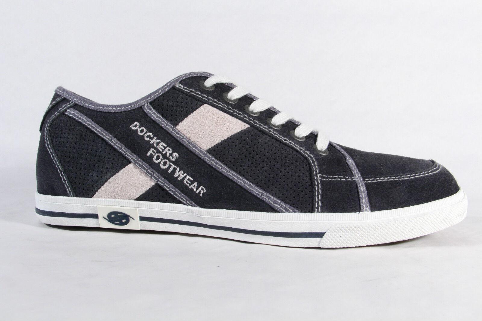 Dockers Herren Schnürschuh Halbschuh Sneaker , blau, Wechselfußbett NEU!