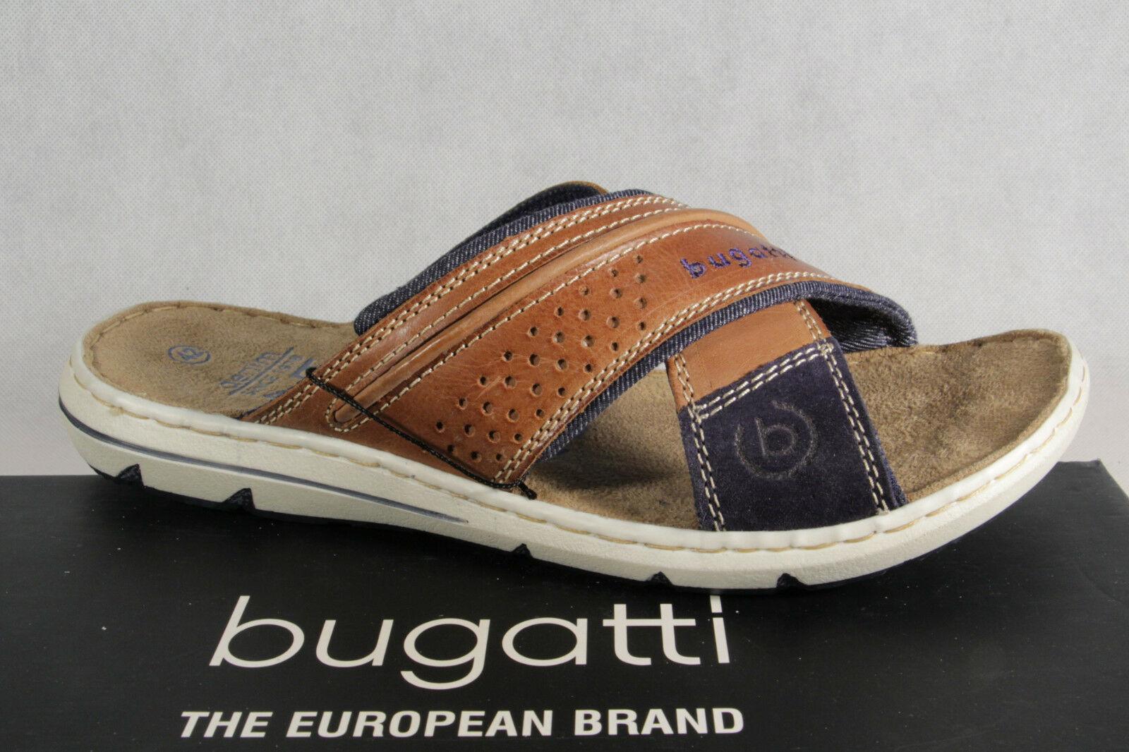 Bugatti Schuhe blau grau Mesh atmungsaktiv extra light