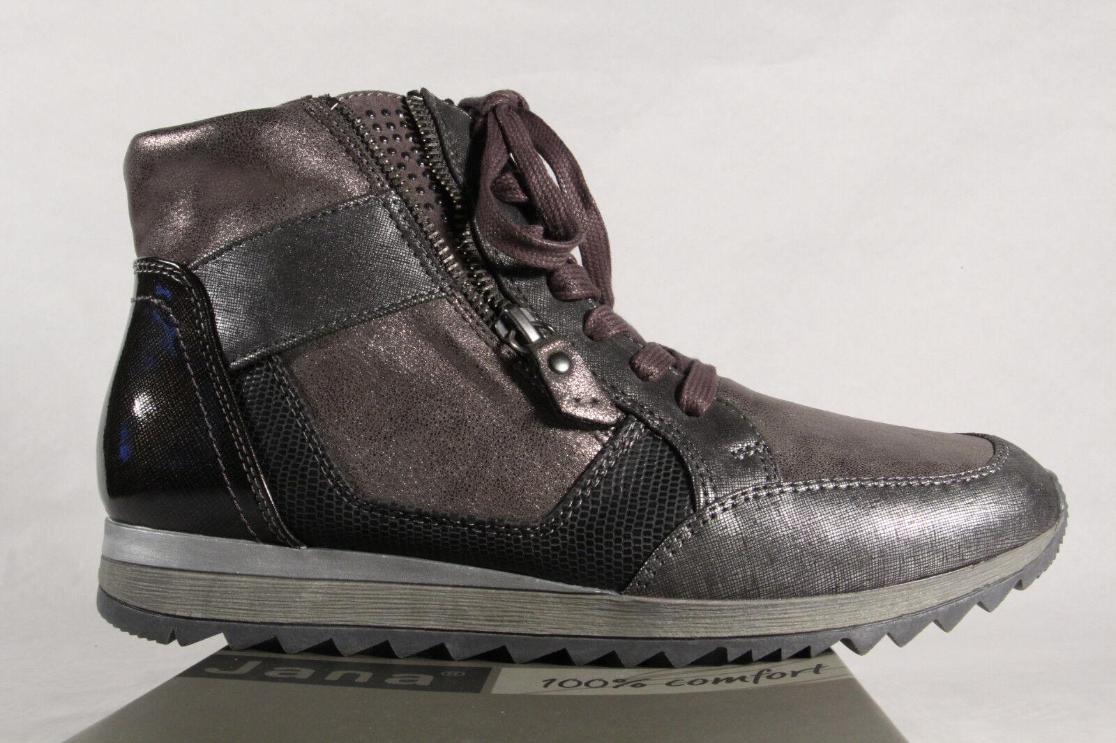 competitive price f8b21 08d24 Jana Stiefelette, Stiefel, Boots grau 25203 NEU!