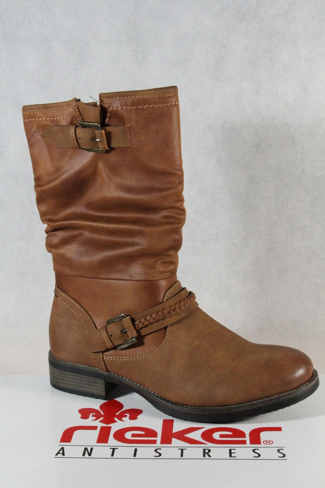 premium selection d905b cf658 Rieker Stiefel Stiefelette Stiefel Winterstiefel 98860 braun ...