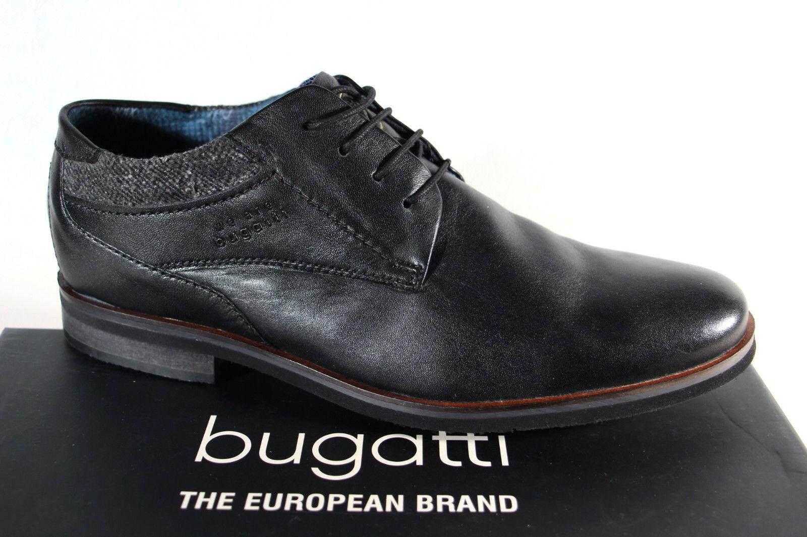 buy popular d6497 9b130 Sneaker Schwarz Neu Schnürschuhe Herren Halbschuhe Bugatti ...