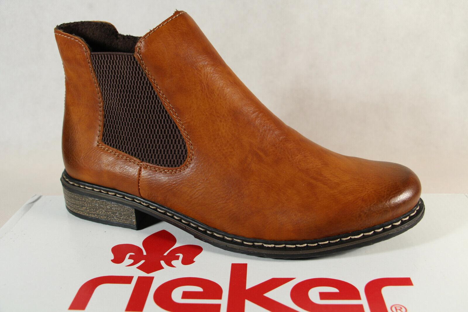 Rieker Damen Stiefel L5523 Stiefelette Schnürstiefel Boots LhhR1