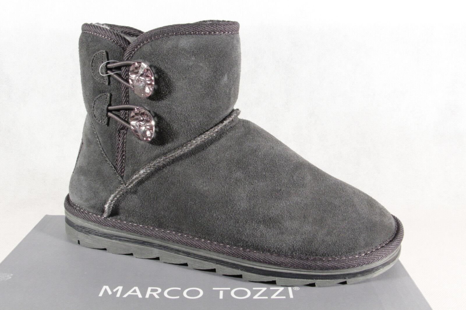 online store 70f33 538b5 Marco Tozzi Stiefel Stiefelette Boots Winterstiefel grau 26822 NEU!!