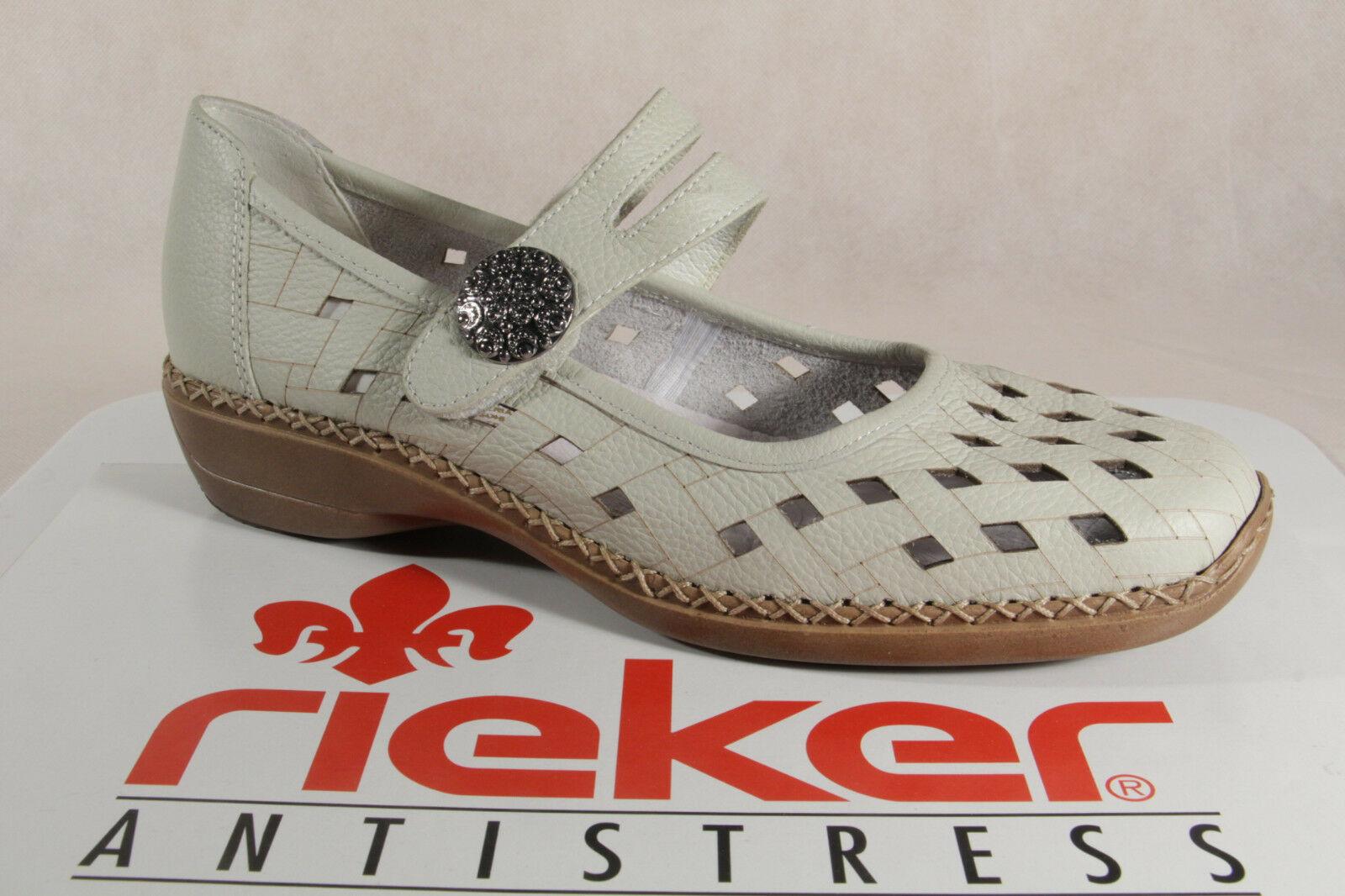 new style f8eb6 75a31 Rieker 41375 Slipper Sneakers Halbschuhe Sportschuhe Ballerina beige NEU