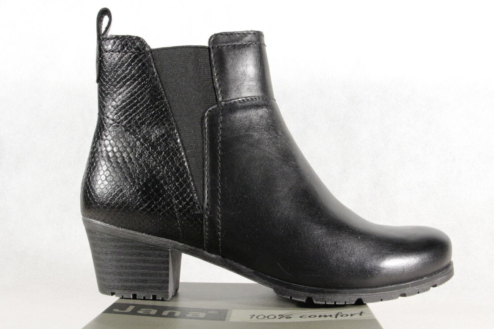 Jana Stiefel Stiefel Stiefelette Stiefel Winterstiefel schwarz schwarz schwarz 25312 NEU 94c997