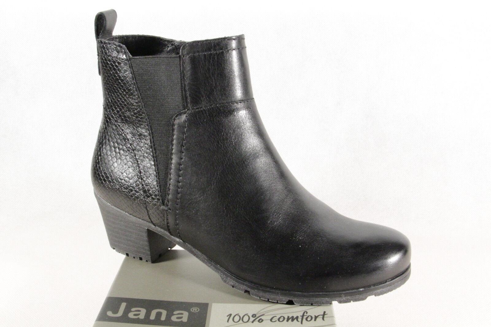Jana Stiefel Stiefel Stiefel Stiefel Stiefelette Stiefel Winterstiefel schwarz 25312 NEU c61517