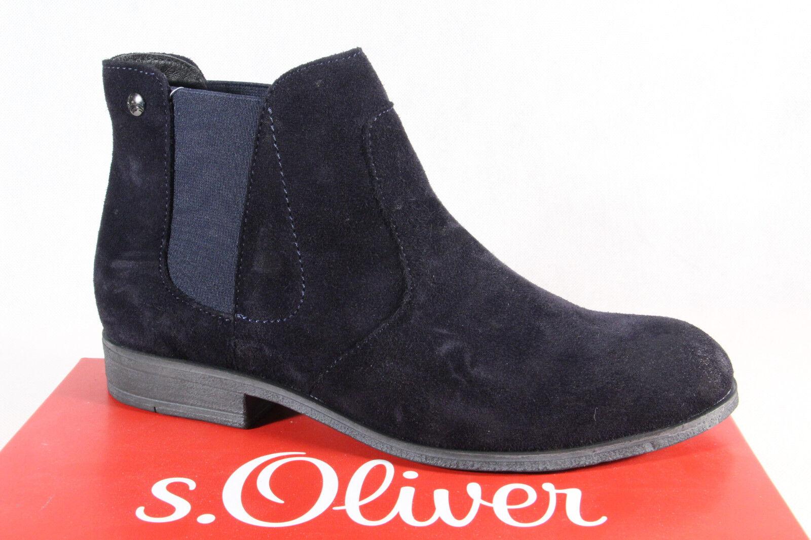 S.Oliver Damen Stiefel Stiefelette blau Stiefel