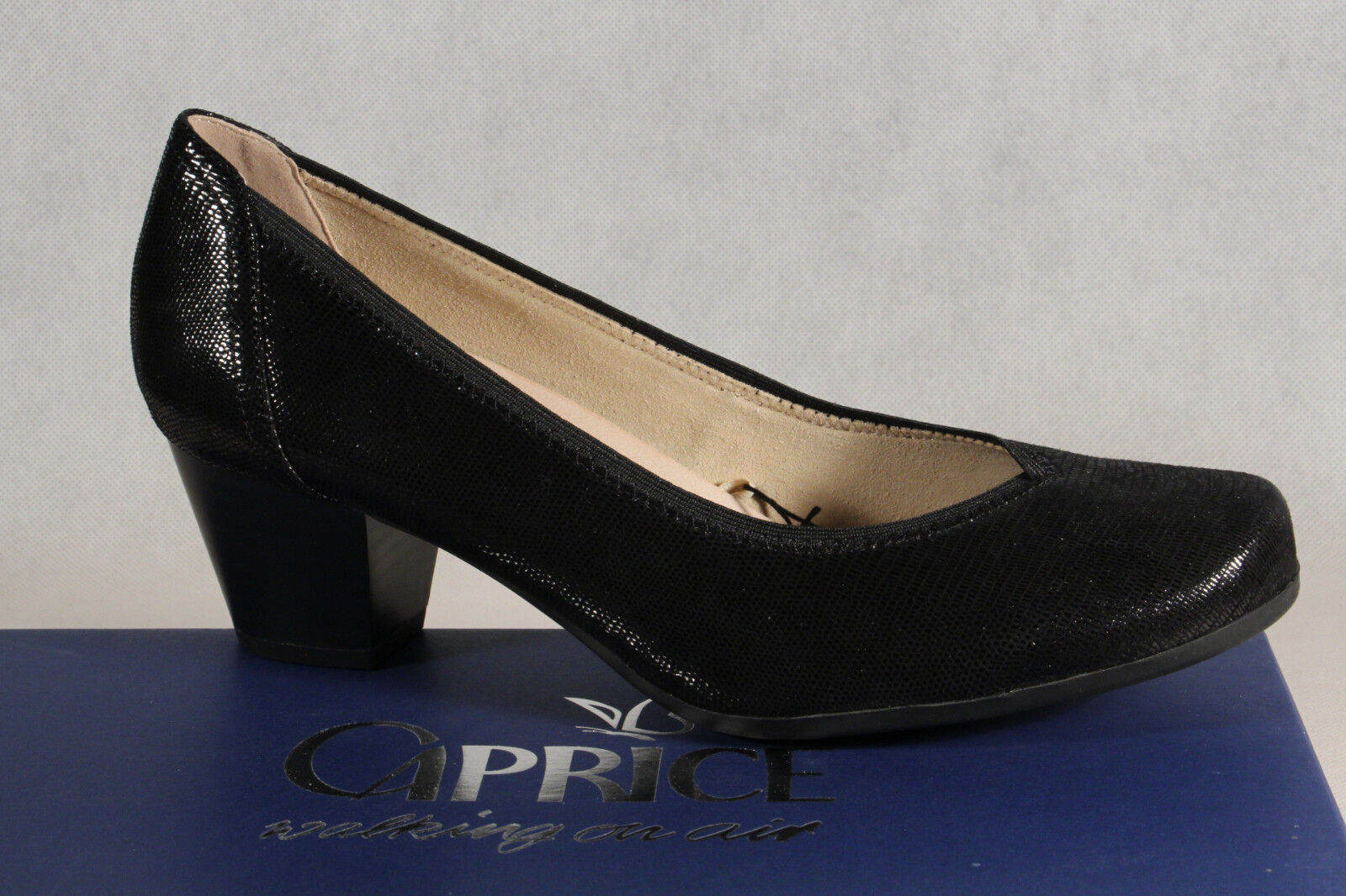 Pumps schwarz Weite H 43 Kyki Schuhe