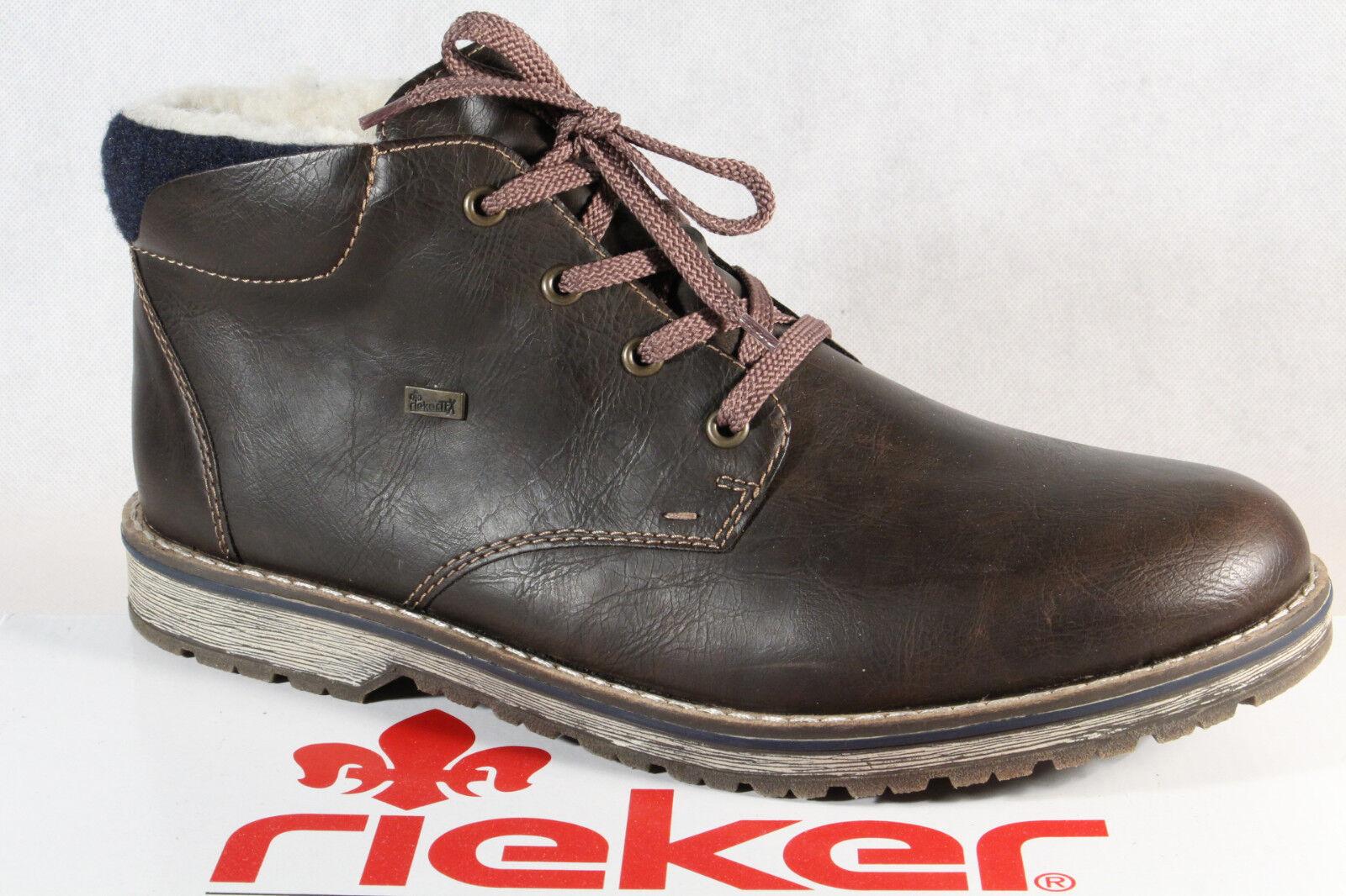 Rieker TEX Herren Stiefel Schnürstiefel Boots Winterstiefel 39211 NEU!