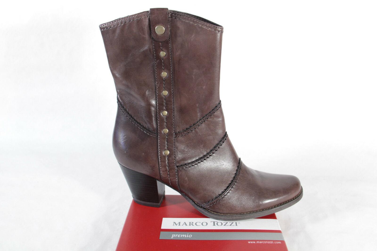 sports shoes 59094 c1505 Marco Tozzi Stiefel Stiefelette Stiefeletten braun Leder RV NEU!! SP. 39,  00 €
