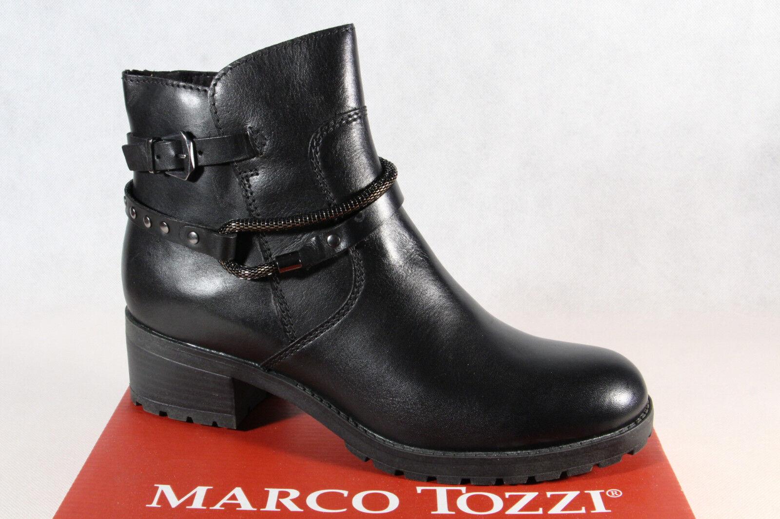 Marco Tozzi Damen Stiefelette Stiefel Winterstiefel Stiefel schwarz 25475 NEU
